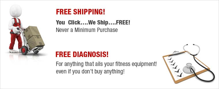 Treadmill Doctor Free Shipping and Free Diagnosis